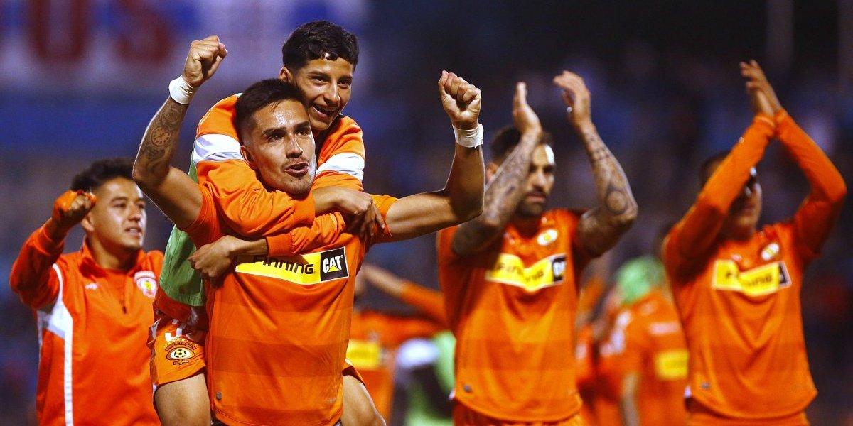 Felicidad total en Cobreloa: jugadores rescataron el espíritu del equipo para vencer a la UC