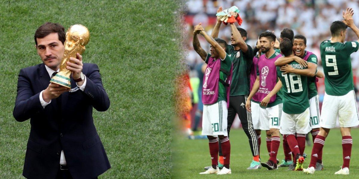 Me ha gustado México ¡En todo!: Iker Casillas