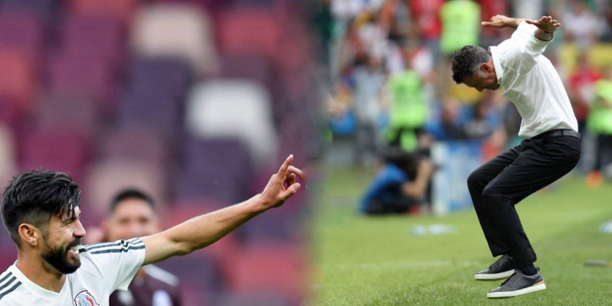 Oribe Peratla dedica triunfo a Juan Carlos Osorio