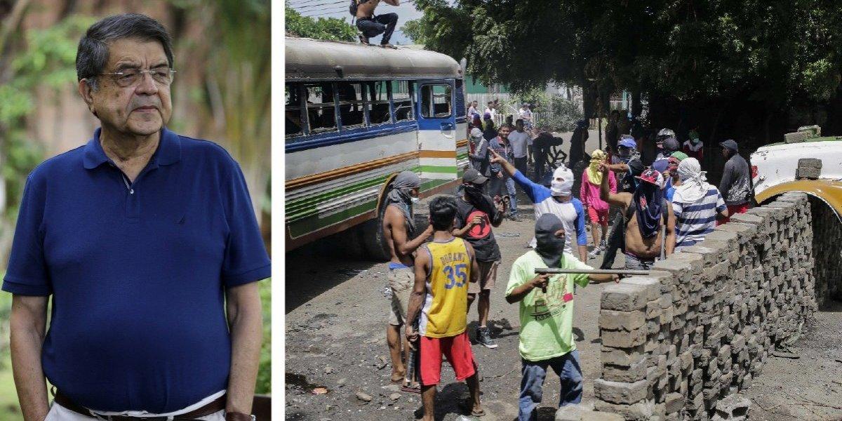 """Sergio Ramírez está preocupado por la """"situación desesperada en Nicaragua"""""""