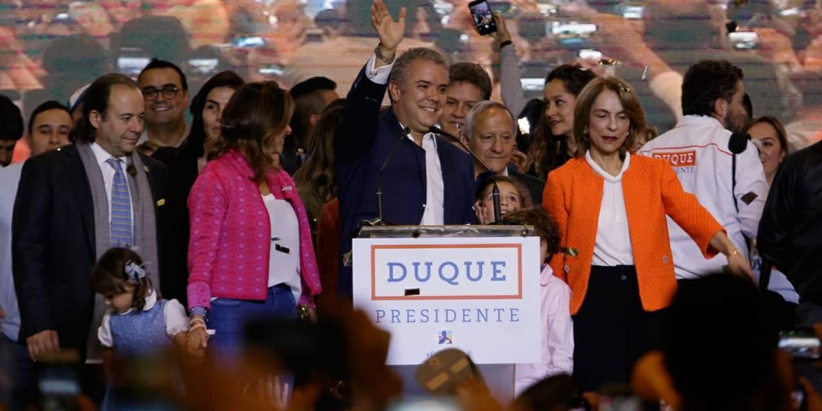 Duque va a EEUU en primer viaje al exterior como presidente colombiano electo