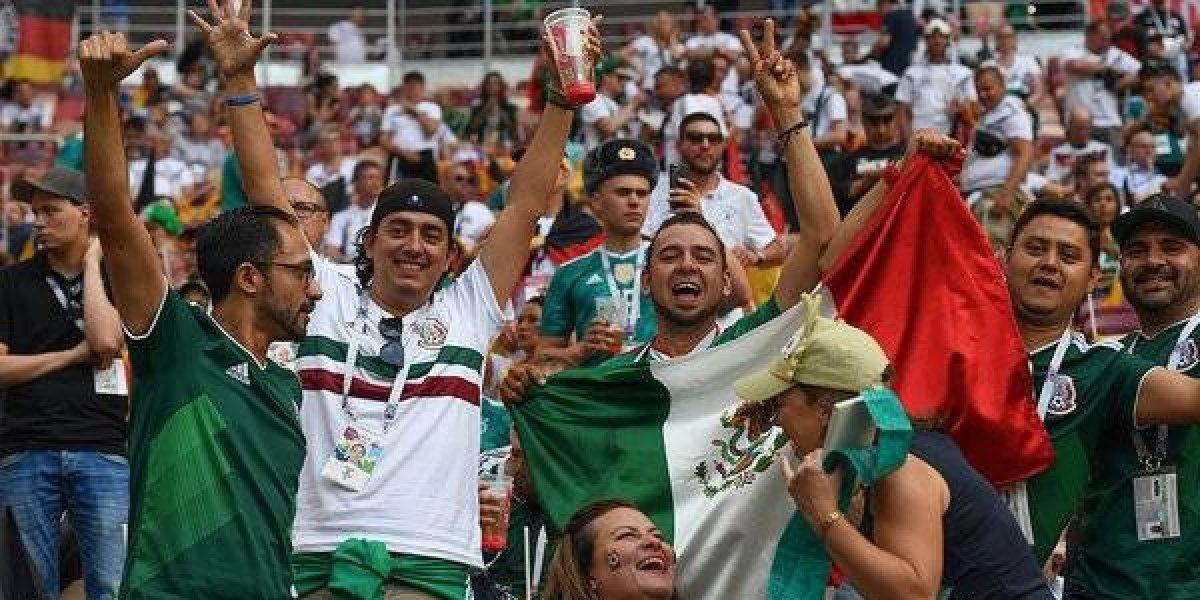 VIDEO: Himno de México enciende el estadio de Luzhniki