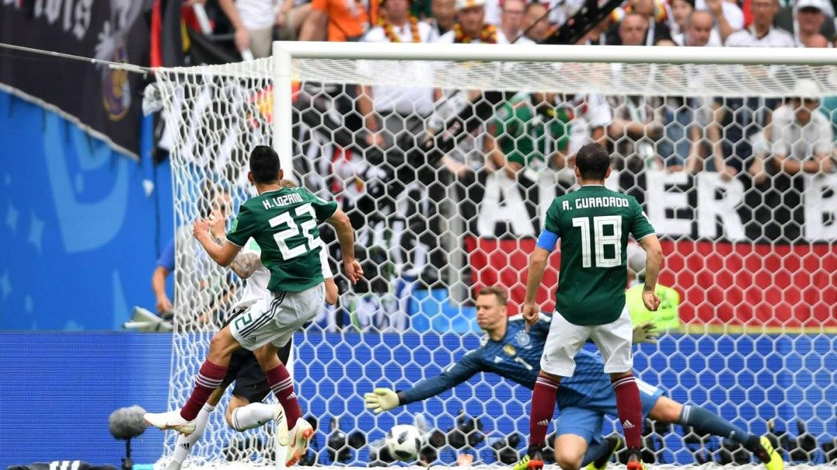 México versus Alemania