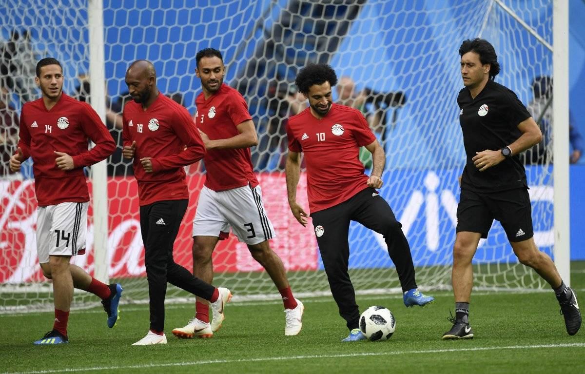 Salah está listo para poder debutar en el Mundial.