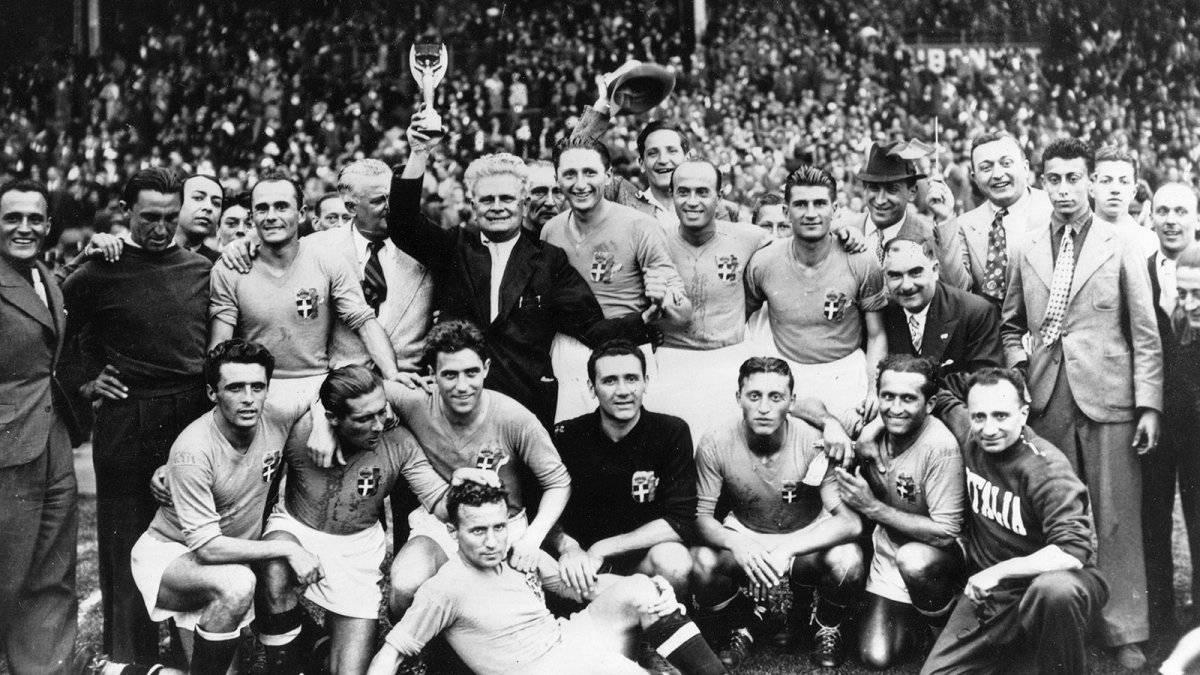 Italia fue el primero en ganar un bicampeonato.