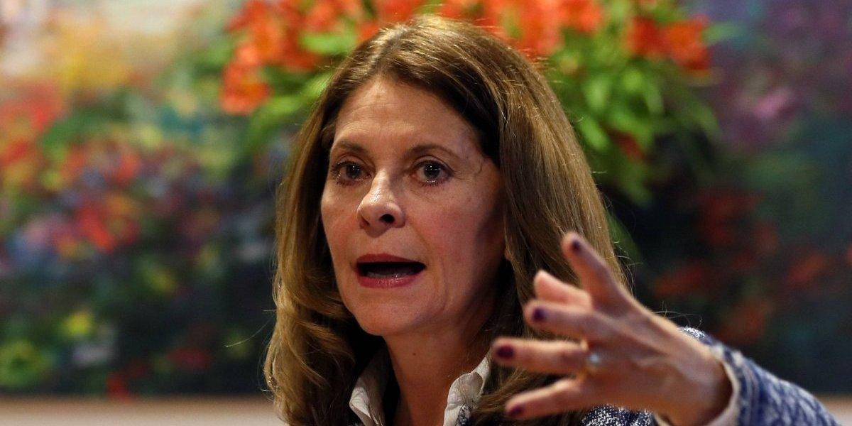 Marta Lucía Ramírez criticó a quienes salieron a marchar en defensa de la JEP