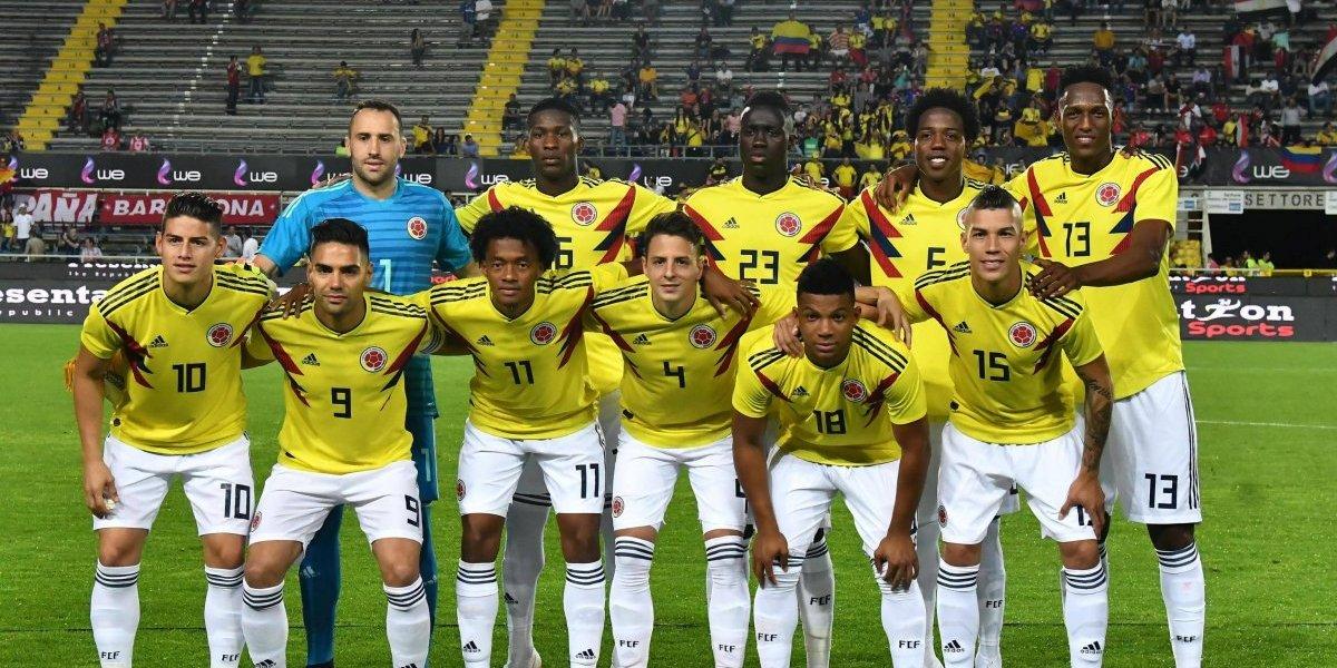 Así formará Colombia frente a Japón, en Saransk