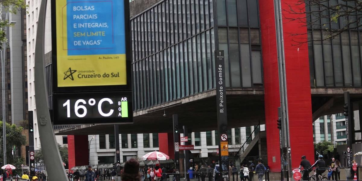 Previsão do Tempo: São Paulo vai esfriar nesta terça-feira