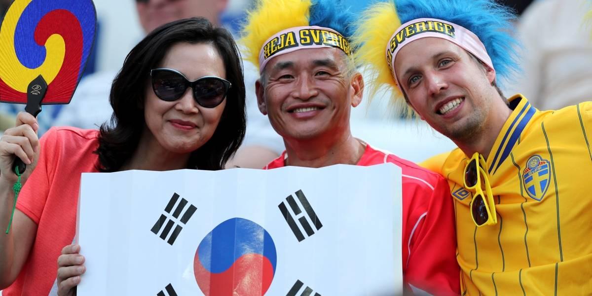 AO VIVO: Suécia e Coreia do Sul se enfrentam pelo grupo F