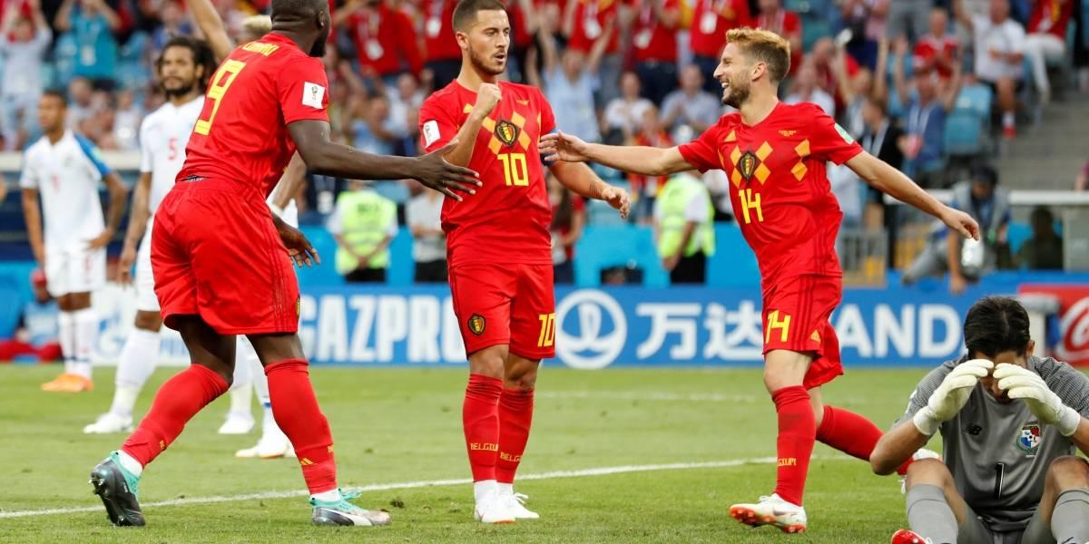 Copa 2018: Bélgica mostra força em campo e bate o estreante Panamá por 3 a 0