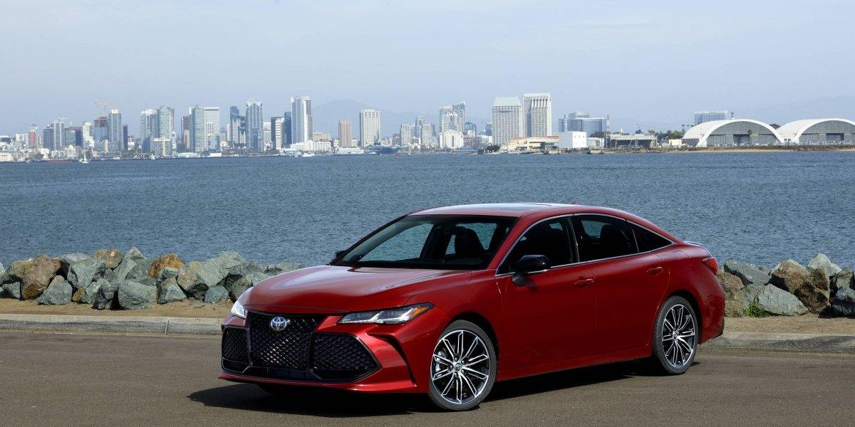 Toyota revela la fecha de llegada de su nuevo Avalon 2019
