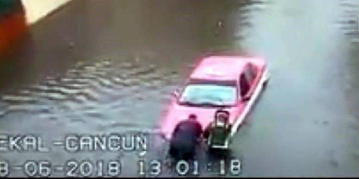 Se registran inundaciones por lluvias en tres delegaciones