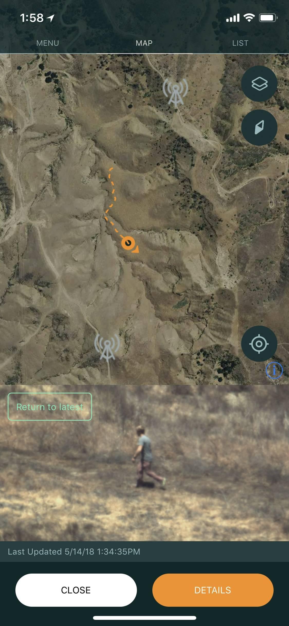 El rastreo y vigilancia