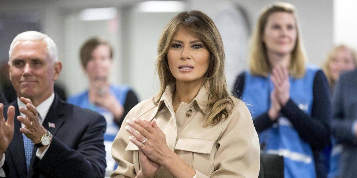 """¿Quiebre en el paraíso Trump? Melania """"odia ver"""" familias separadas en la frontera de EEUU"""