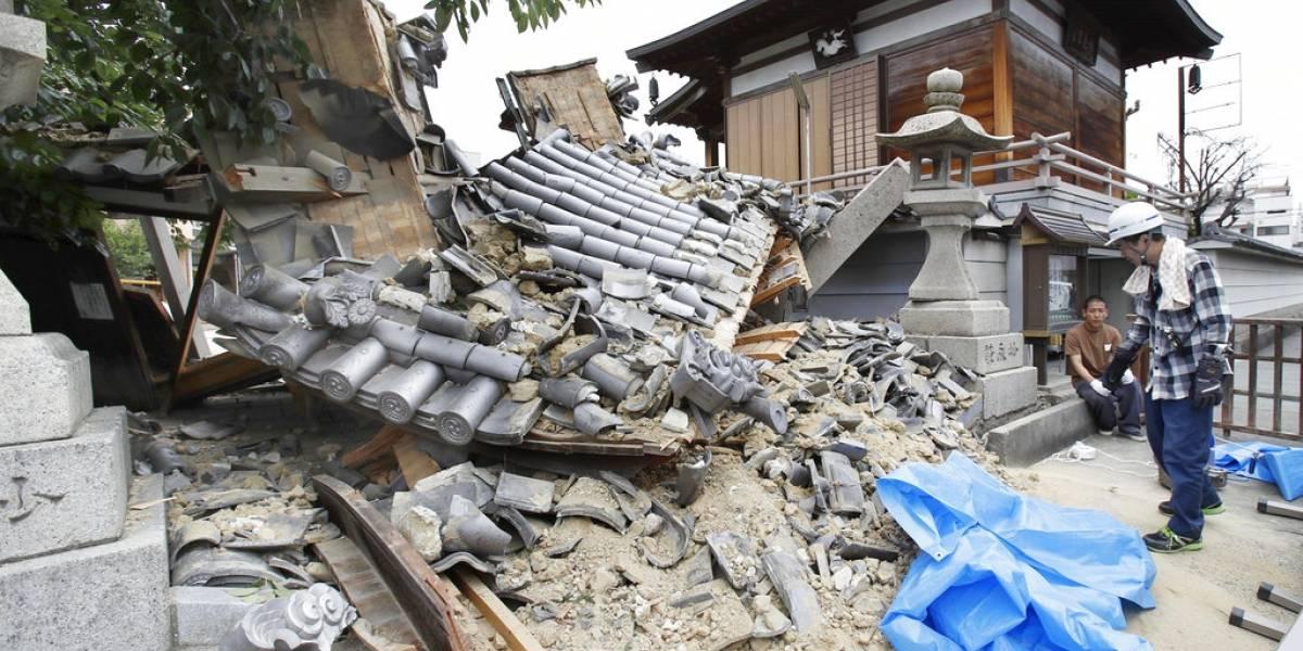 Tres muertos y más de 300 heridos tras terremoto en Japón: menor de 9 años murió aplastada en su colegio