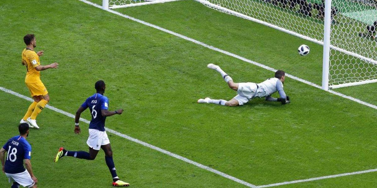 Futbolista Pogba pierde crédito del gol que dio triunfo a Francia