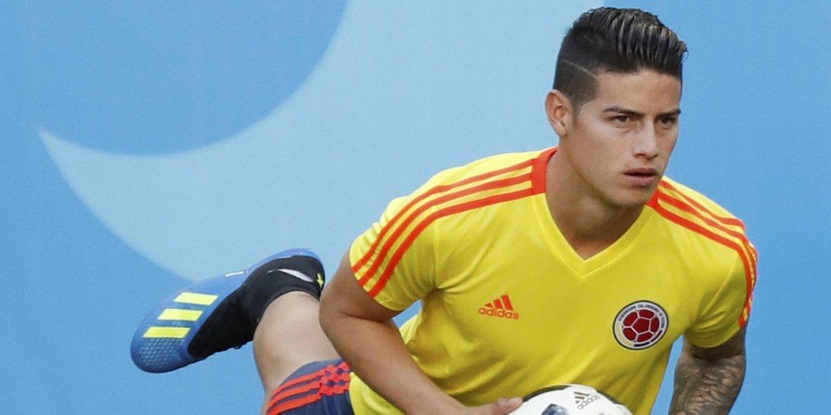 Mundial Rusia 2018: La presencia de James para el debut de Colombia sigue en duda