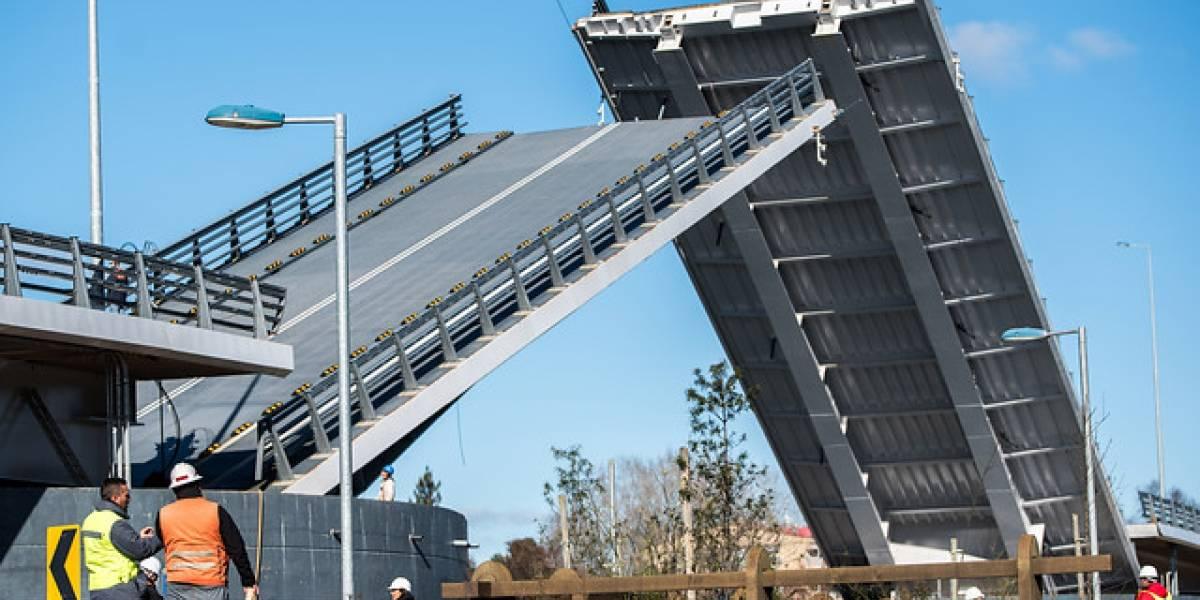 Anuncian fecha en que puente Cau Cau comenzará a operar en Valdivia