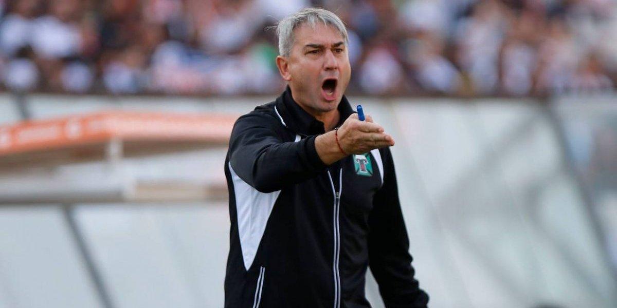 Las víctimas del Campeonato Nacional no paran: Dalcio Giovagnoli se va de Deportes Temuco