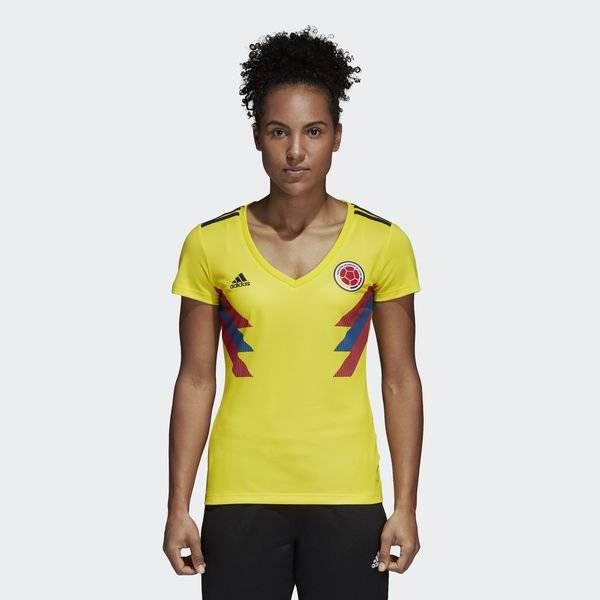camiseta mujer seleccion colombia