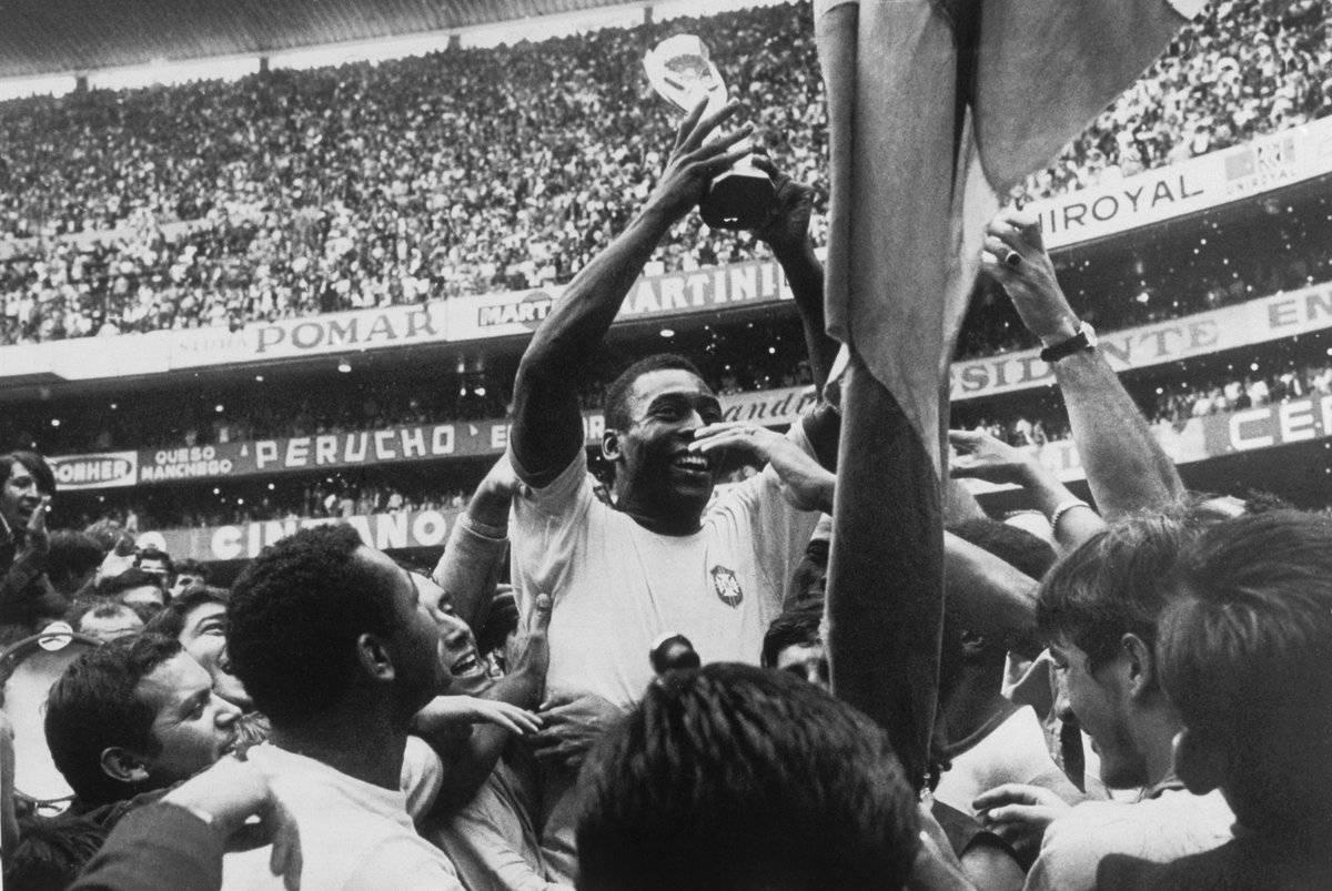 Pelé se consagró por primera vez en 1958.