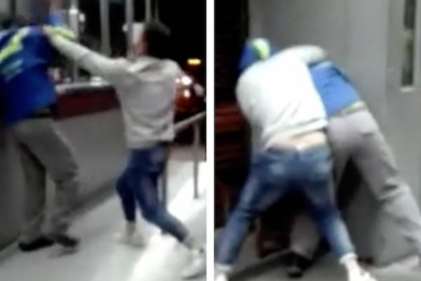 colado que agredió a funcionario de TransMilenio