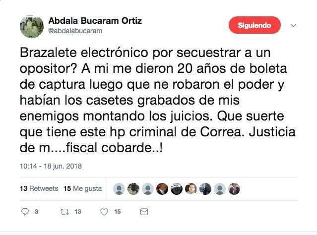 Twitter Abdalá Bucaram