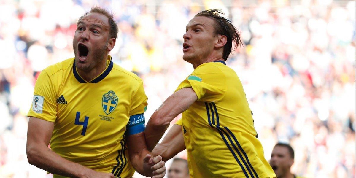 Suecia superó a Corea y complicó aún más a Alemania