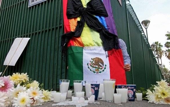 Protesta en Consulado de Jalisco | Foto: Cuartoscuro