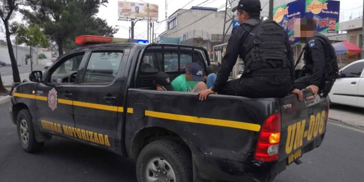VIDEO. Presuntos asaltantes son capturados tras publicación de video en redes sociales