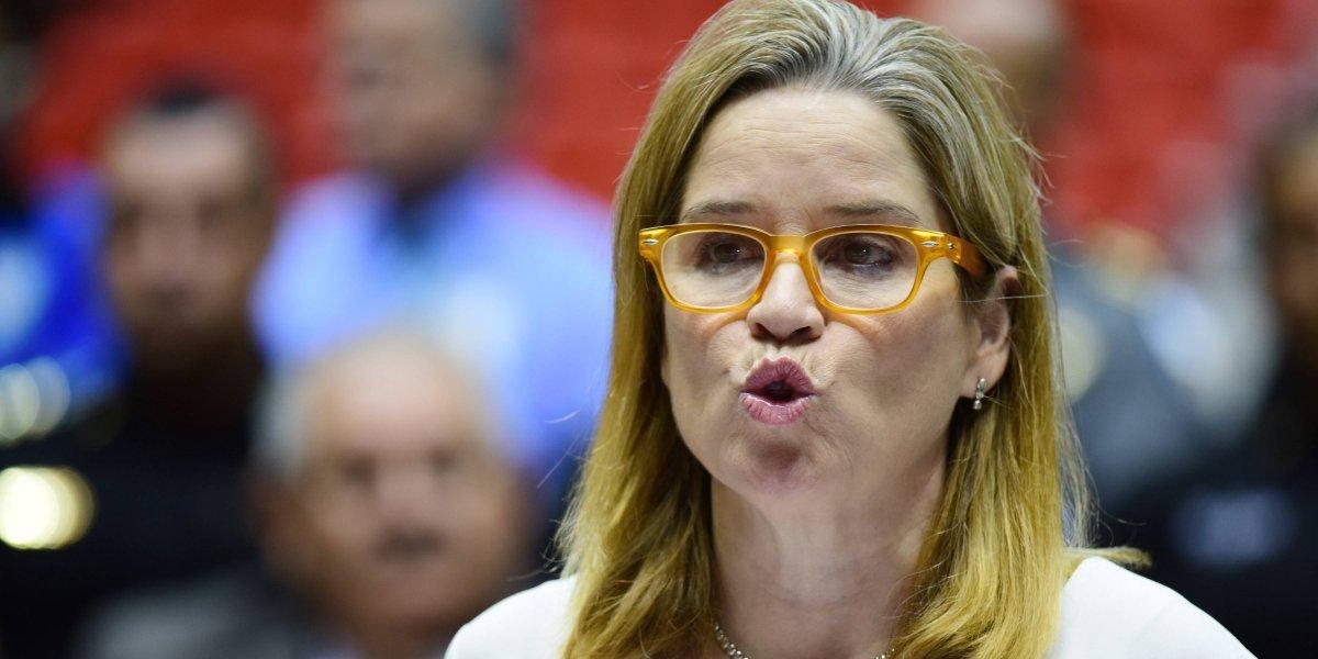 Carmen Yulín se niega a contestar preguntas sobre fondos para el Fideicomiso de Río Piedras