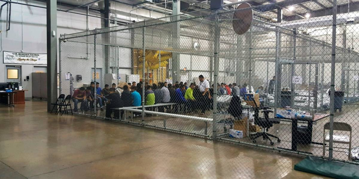 El llanto desesperado de niños separados de sus padres en la frontera de EE. UU.