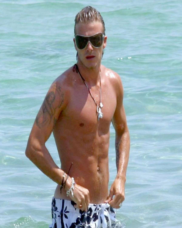 David Beckham antes