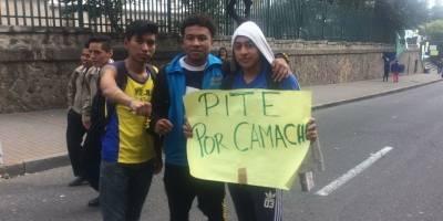 Estudiantes del colegio Mejía se toman las calles