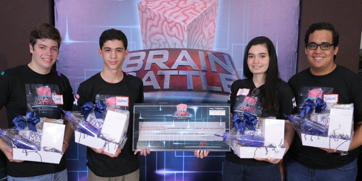 #TeVimosEn: Galletas Club Max respalda segunda temporada de Brain Battle