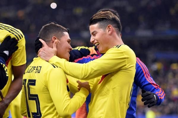 Amistoso Colombia vs Argentina