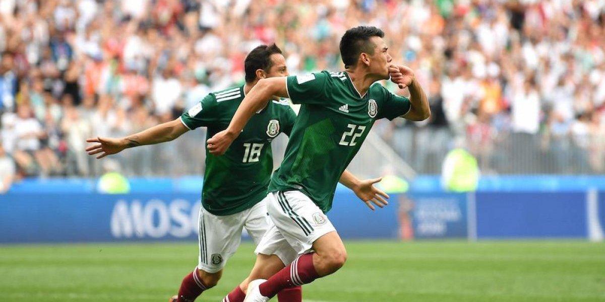 Así se narró el gol del Chucky Lozano en el mundo