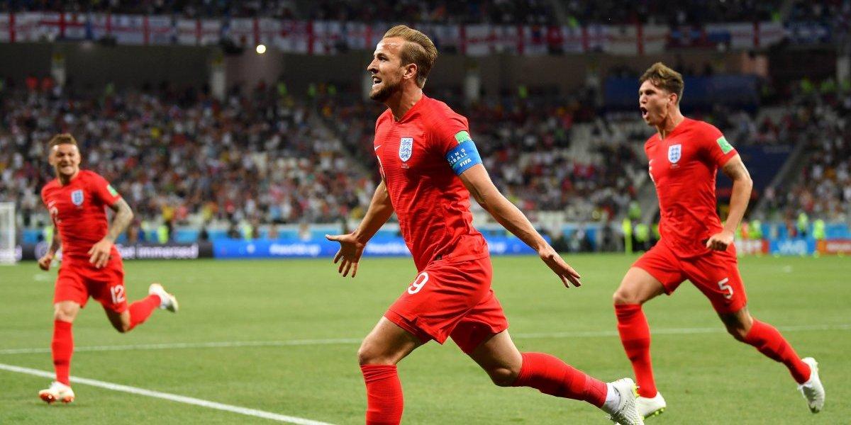 Harry kane le da la victoria a Inglaterra