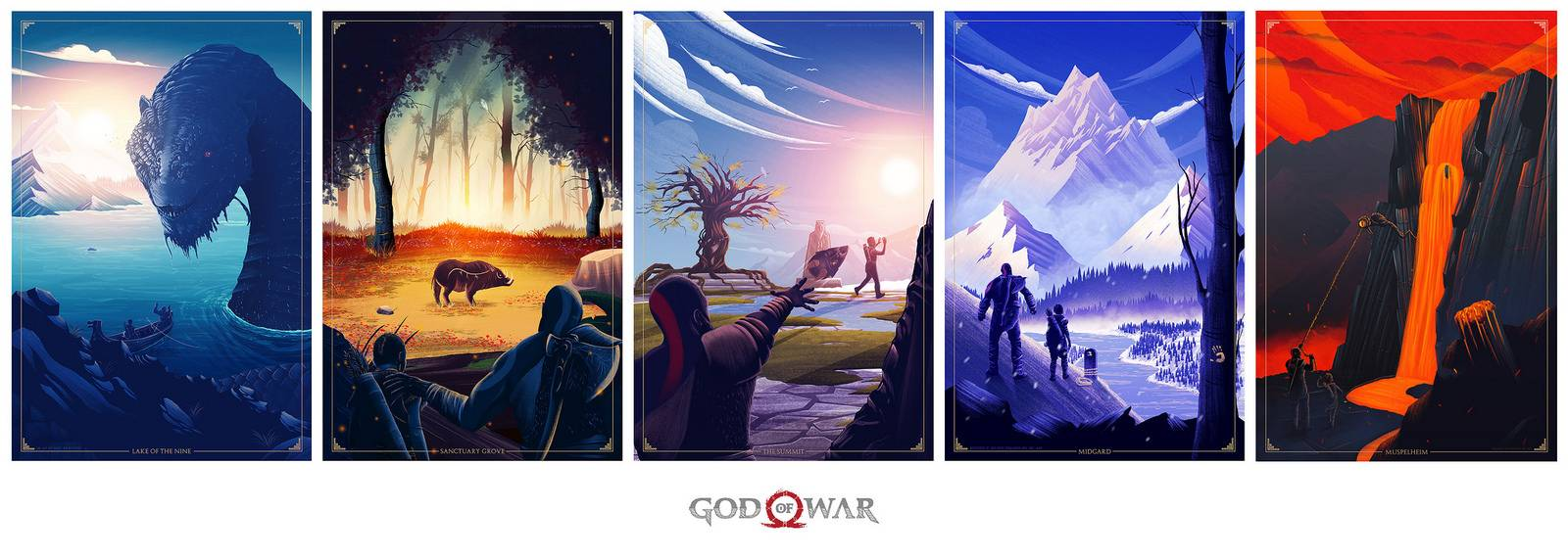 God of War Pósters