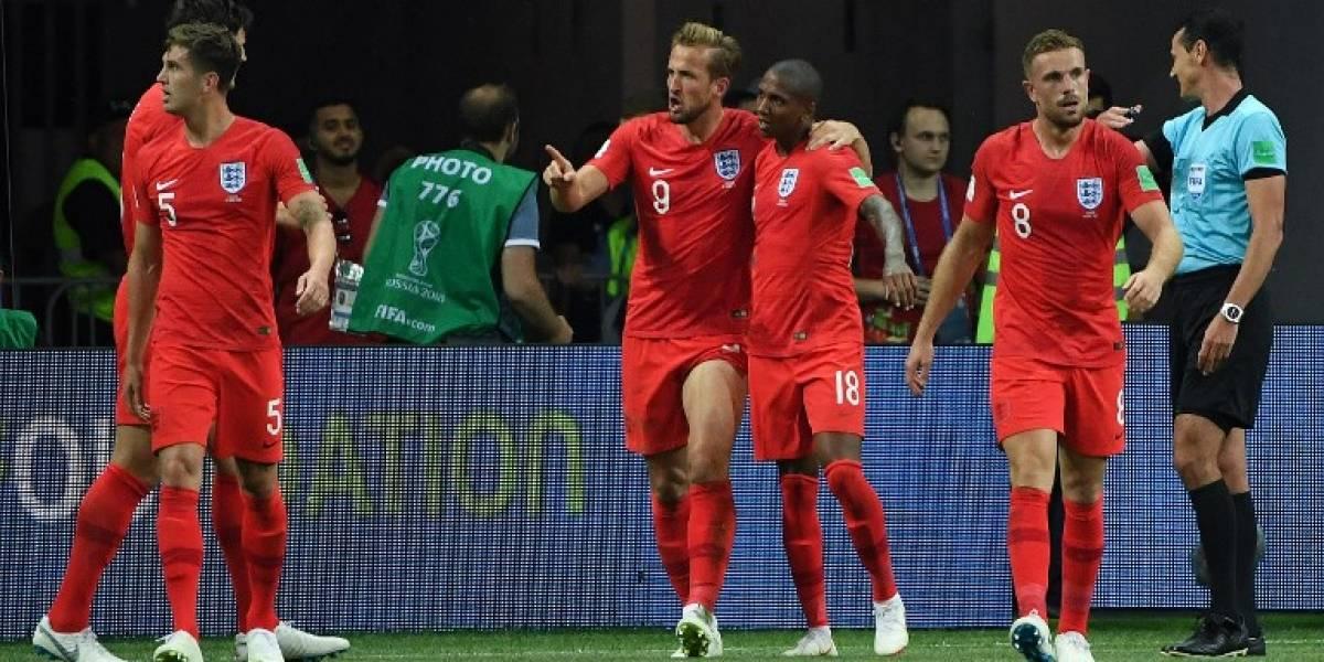"""Un  """"rugido"""" de último momento de Kane le da la victoria a Inglaterra"""