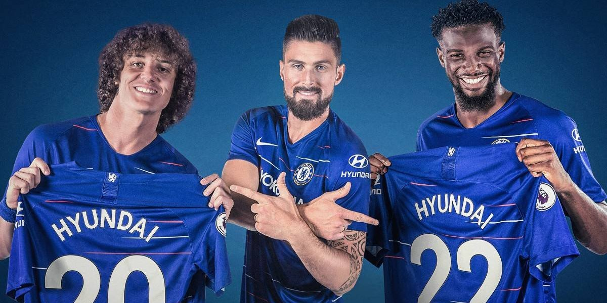 Hyundai es el nuevo auspiciador del Chelsea