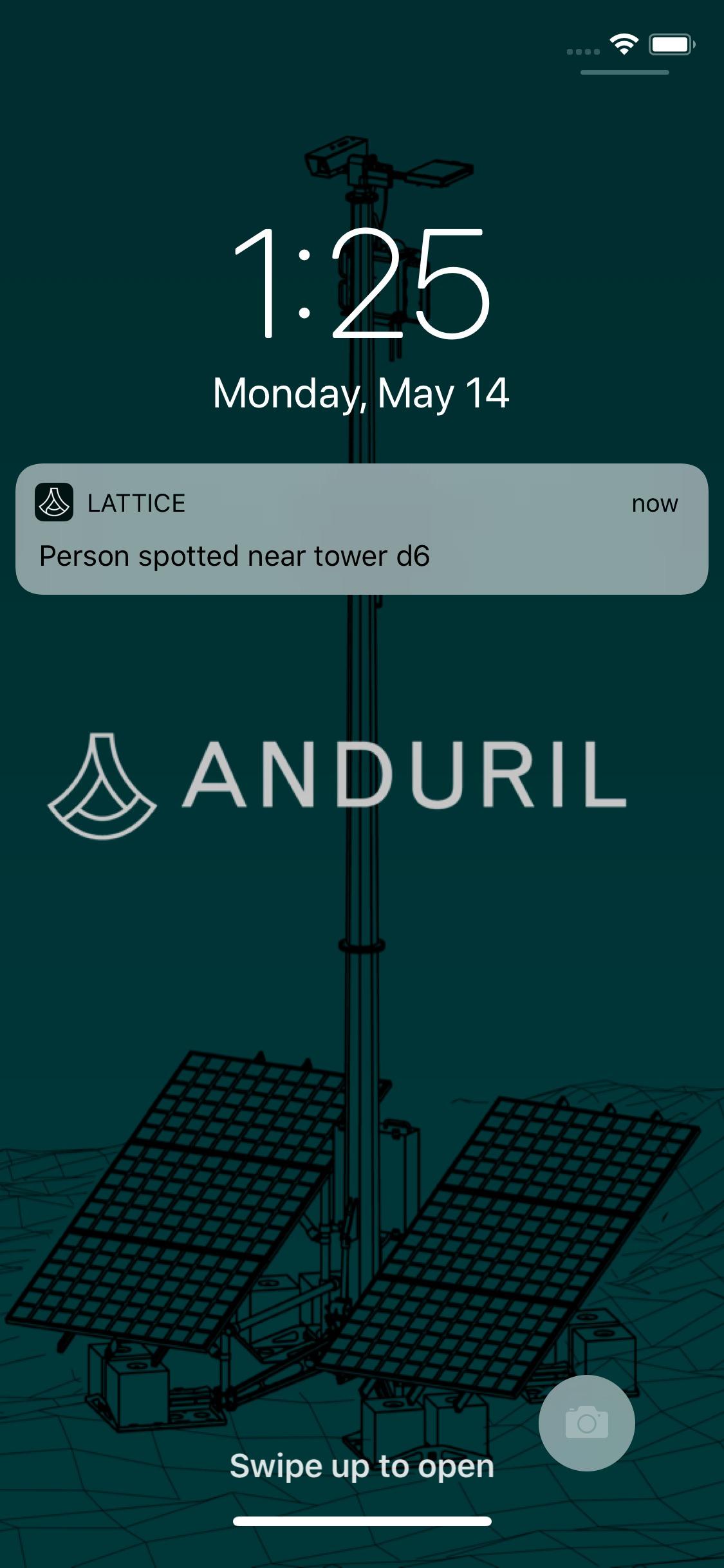 Anduril como una aplicación
