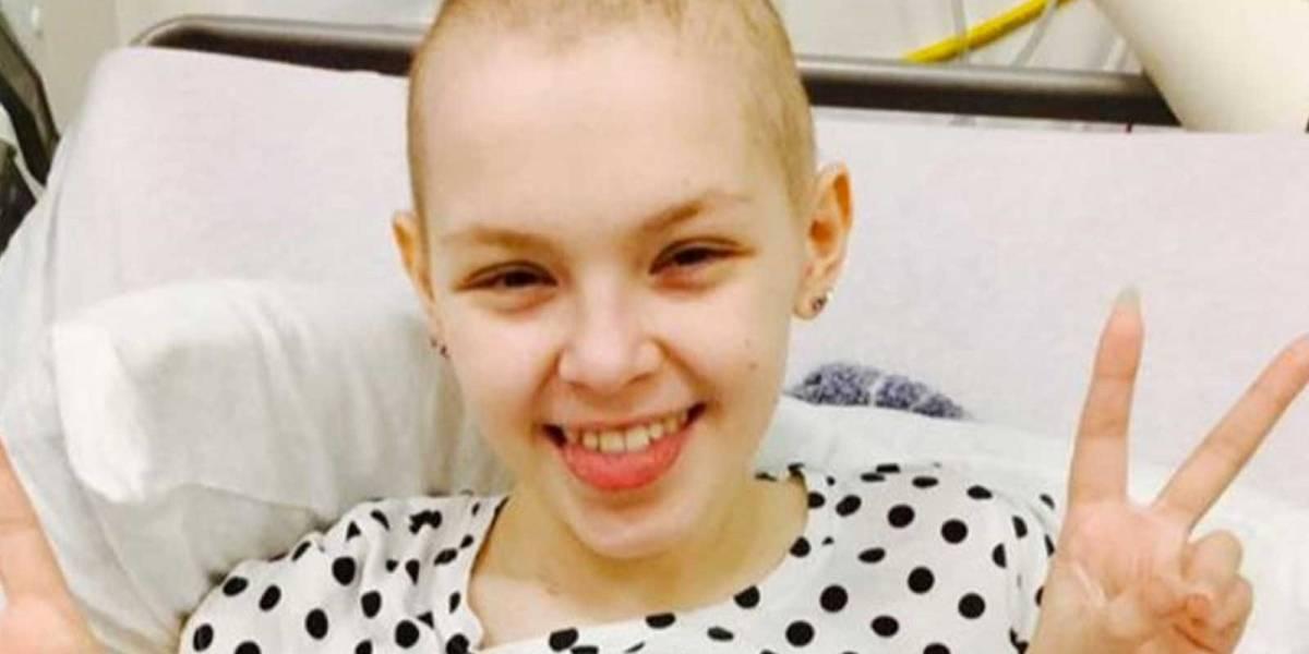 ¡Milagroso! Una niña logra vencer el cáncer gracias a muchas donaciones