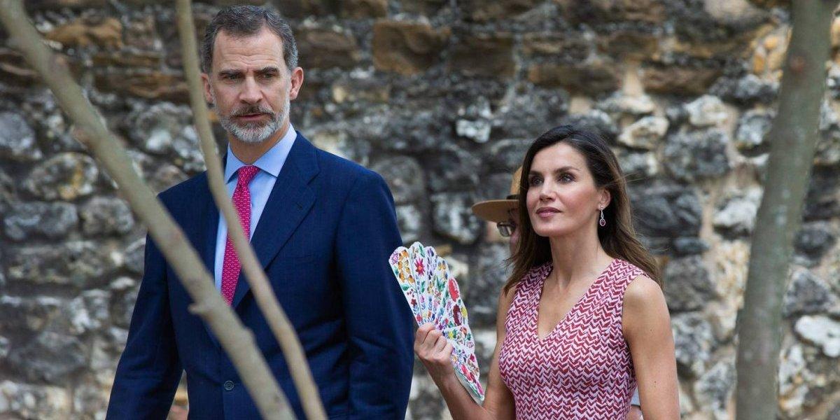 ¿Se disipan los rumores de divorcio? Letizia y el rey Felipe VI muy alegres en viaje a EE UU