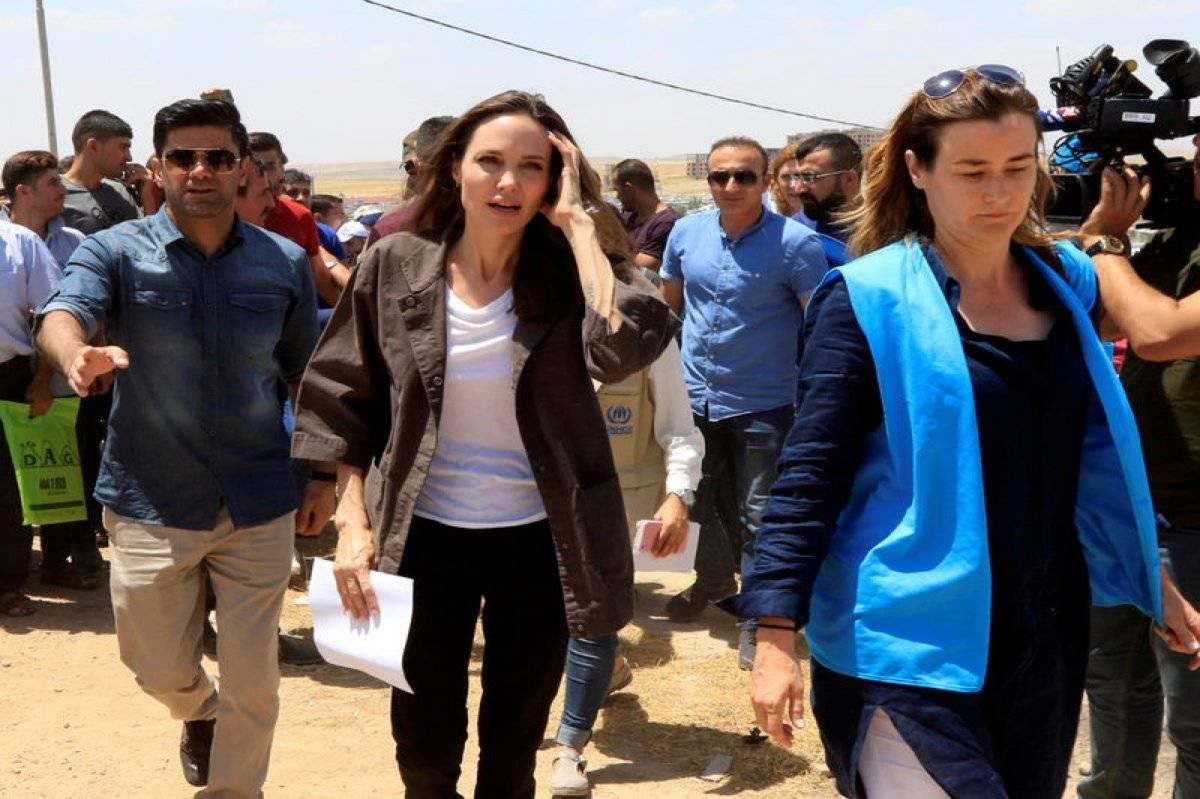 Angelina Jolie Irak