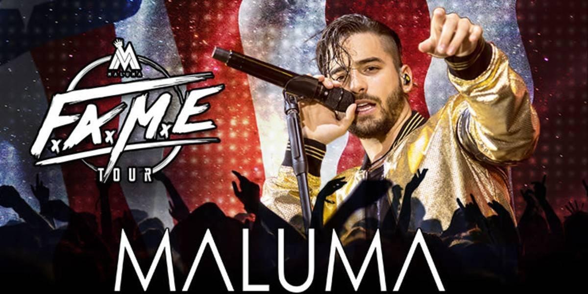 Maluma ofrecerá concierto el 15 de agosto en el Palacio de los Deportes