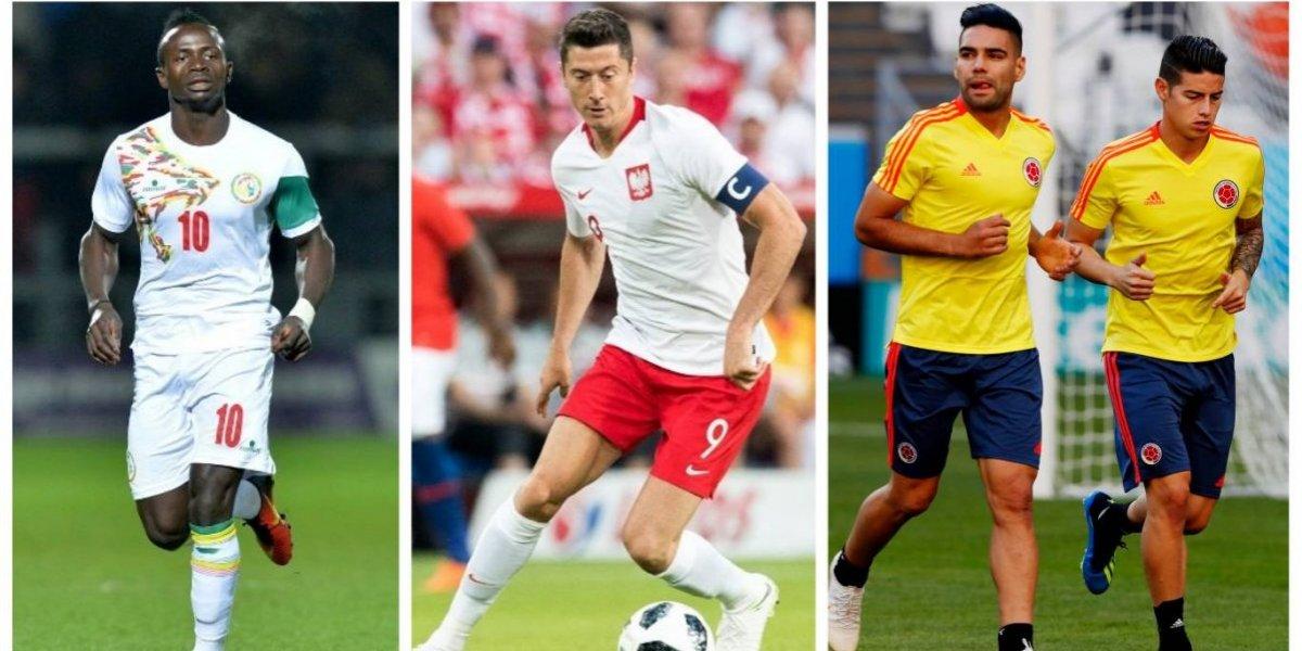 Las estrellas del último grupo del Mundial entran en acción