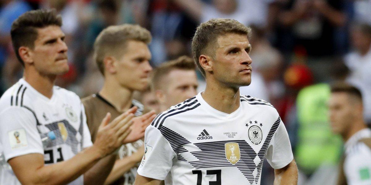 """Prensa alemana le da """"palo"""" a su selección tras la derrota ante México"""