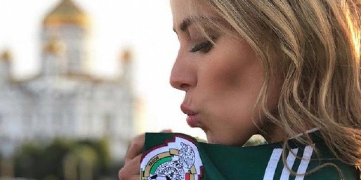 Vanessa Huppenkothen 'enloqueció' con el gol de México