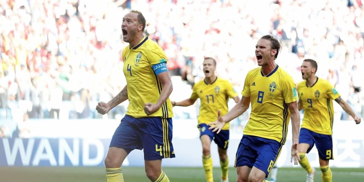 Copa 2018: Suécia vence a Coreia do Sul e garante os três pontos